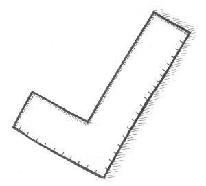Symbole der Freimaurer - Das Winkelmaß